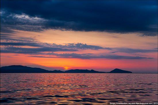 Amazing Sunrise at Cape Kiik-Atlama, Crimea, Ukraine photo 2