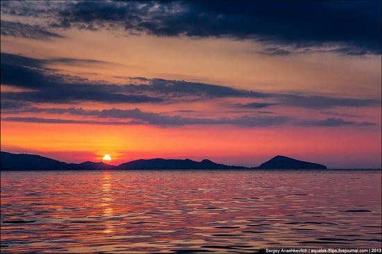 Amazing Sunrise at Cape Kiik-Atlama, Crimea, Ukraine photo 3