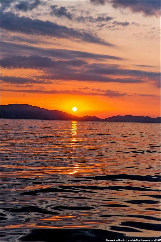 Amazing Sunrise at Cape Kiik-Atlama, Crimea, Ukraine photo 4