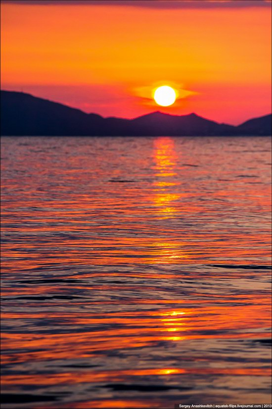 Amazing Sunrise at Cape Kiik-Atlama, Crimea, Ukraine photo 5