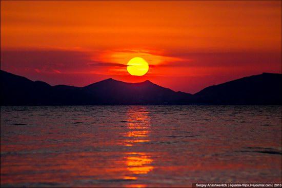 Amazing Sunrise at Cape Kiik-Atlama, Crimea, Ukraine photo 6
