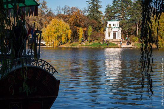 Golden Autumn in Sofiyivka Park, Uman, Ukraine photo 11