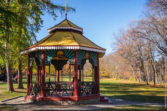 Golden Autumn in Sofiyivka Park, Uman, Ukraine photo 15