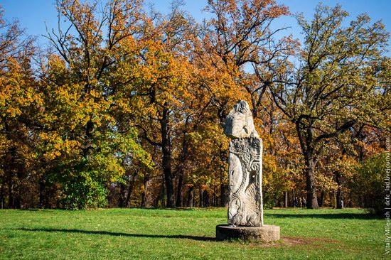 Golden Autumn in Sofiyivka Park, Uman, Ukraine photo 16