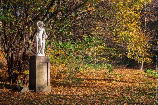 Golden Autumn in Sofiyivka Park, Uman, Ukraine photo 8