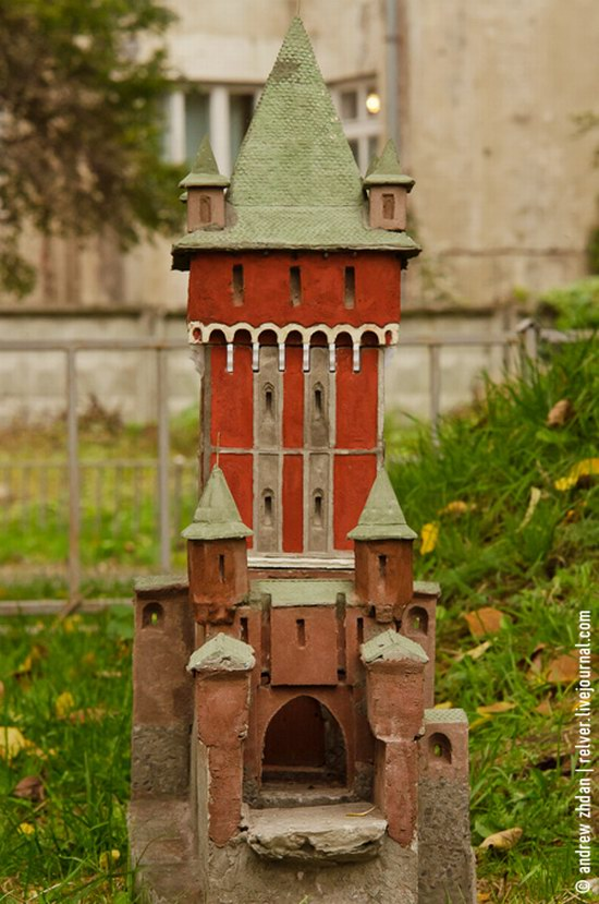 Miniature Fortresses Park in Lviv, Ukraine photo 18