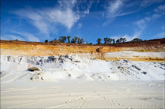 Beautiful quartz quarry in Kharkiv region, Ukraine, photo 11