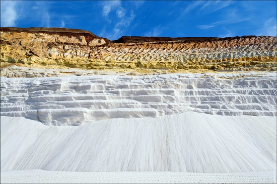 Beautiful quartz quarry in Kharkiv region, Ukraine, photo 17