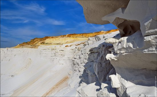 Beautiful quartz quarry in Kharkiv region, Ukraine, photo 9
