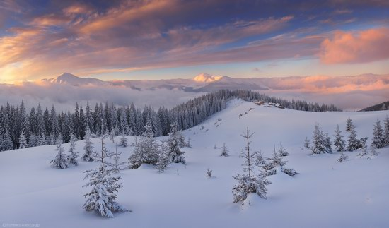 Winter Fairy Tale in the Carpathians, Ukraine, photo 1