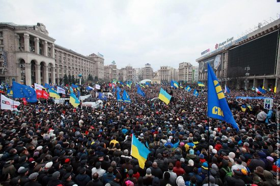 Kyiv protests, December 1, 2013, photo 1