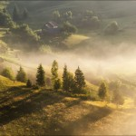 Pastoral Summer Landscapes of Transcarpathia