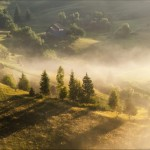 Pastoral Summer Landscapes of Transcarpathia