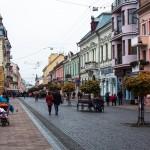 Walking the streets of Chernivtsi