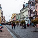 Walking the streets of Chernivtsi
