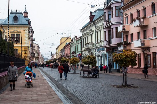 Chernivtsi city, Ukraine streets, photo 1
