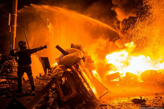 Confrontation in Kyiv, Ukraine, photo 1