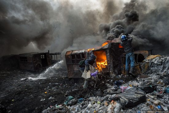 Confrontation in Kyiv, Ukraine, photo 11