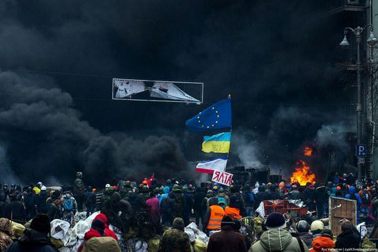 Confrontation in Kyiv, Ukraine, photo 12