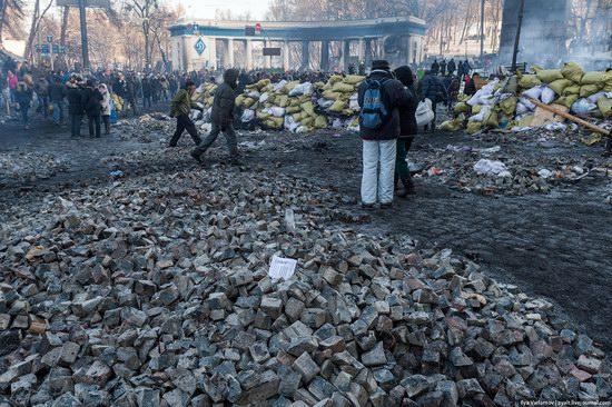 Confrontation in Kyiv, Ukraine, photo 15