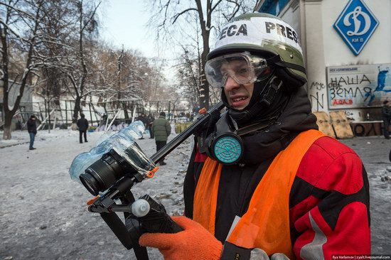 Confrontation in Kyiv, Ukraine, photo 16