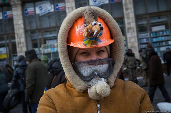 Confrontation in Kyiv, Ukraine, photo 17