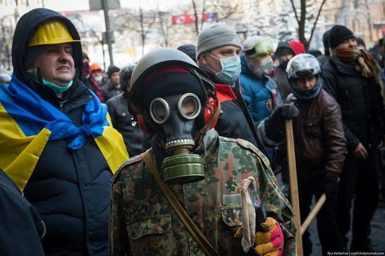 Confrontation in Kyiv, Ukraine, photo 18