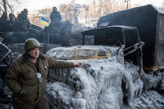 Confrontation in Kyiv, Ukraine, photo 19