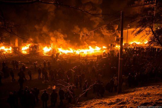 Confrontation in Kyiv, Ukraine, photo 2