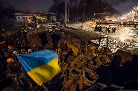 Confrontation in Kyiv, Ukraine, photo 20