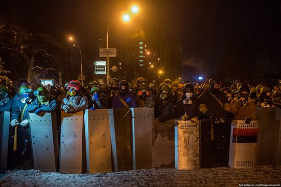 Confrontation in Kyiv, Ukraine, photo 21