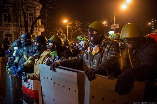 Confrontation in Kyiv, Ukraine, photo 22