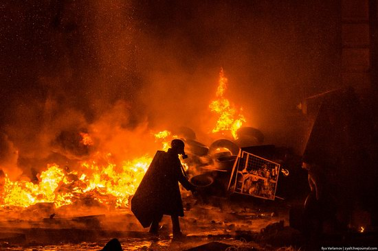 Confrontation in Kyiv, Ukraine, photo 3