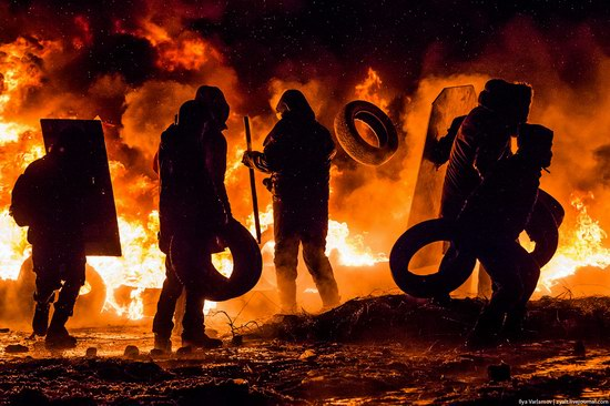 Confrontation in Kyiv, Ukraine, photo 4