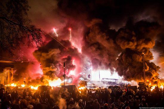 Confrontation in Kyiv, Ukraine, photo 6