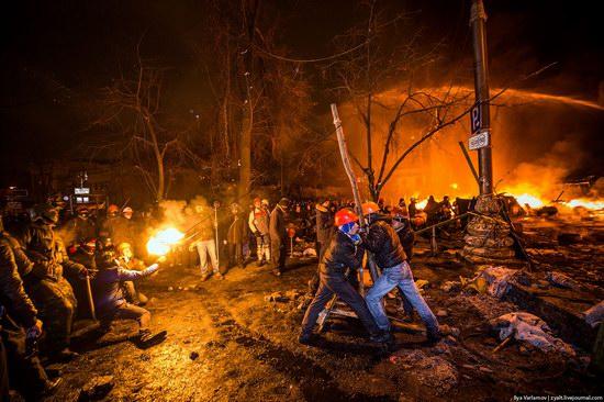 Confrontation in Kyiv, Ukraine, photo 7