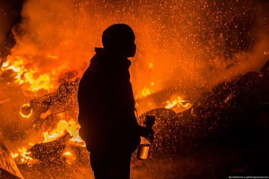 Confrontation in Kyiv, Ukraine, photo 8