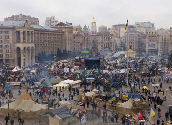 Euromaidan 2014, Kyiv, Ukraine, photo 1