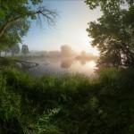 Scenic summer landscapes of Kharkiv region