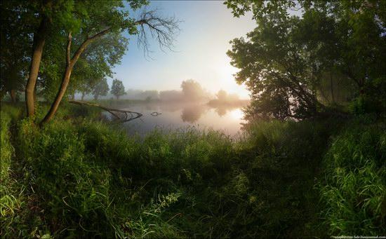 Scenic summer landscapes of Kharkiv region, Ukraine, photo 1