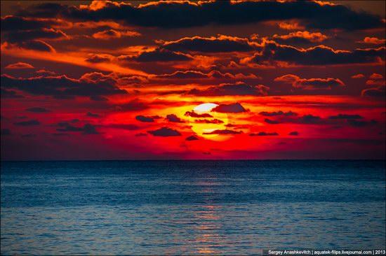 Amazing sunset in Crimea, photo 1