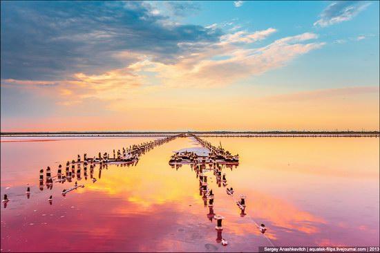 Abandoned salt fields, Crimea, Ukraine, photo 1