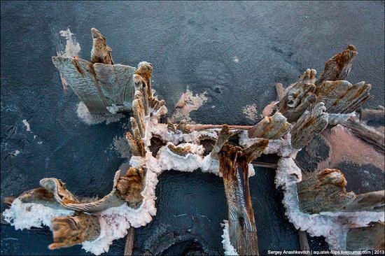 Abandoned salt fields, Crimea, Ukraine, photo 10