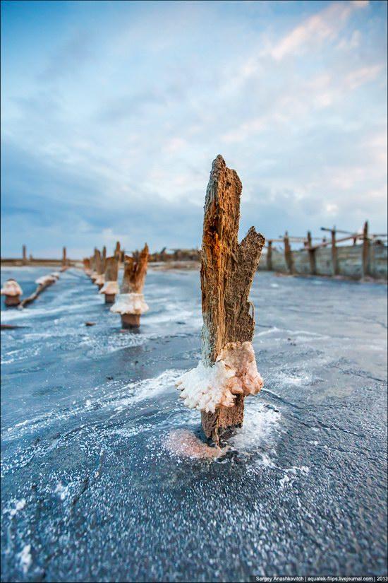 Abandoned salt fields, Crimea, Ukraine, photo 11