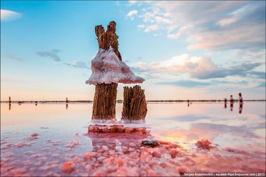 Abandoned salt fields, Crimea, Ukraine, photo 16