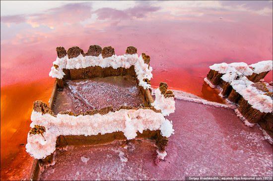 Abandoned salt fields, Crimea, Ukraine, photo 17