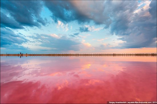 Abandoned salt fields, Crimea, Ukraine, photo 2