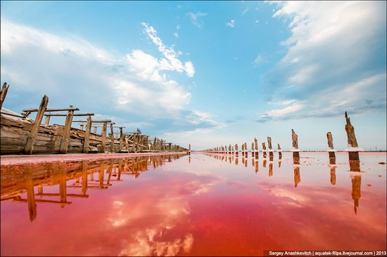 Abandoned salt fields, Crimea, Ukraine, photo 4