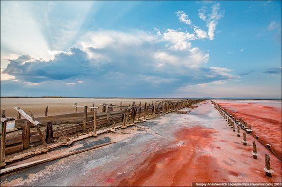 Abandoned salt fields, Crimea, Ukraine, photo 5