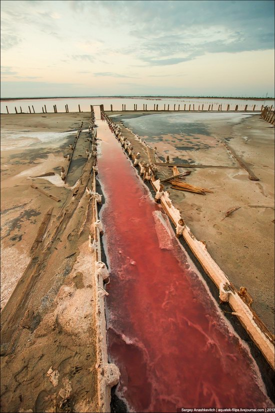 Abandoned salt fields, Crimea, Ukraine, photo 6